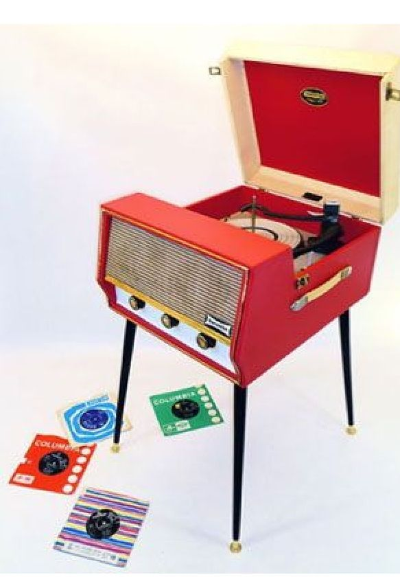 1960s Dansette Record Player. I was given a similar Dansette model by my uncle…