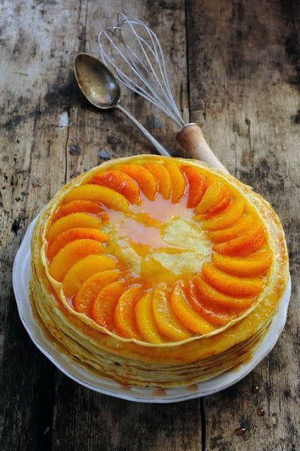 Dorian cuisine.com Mais pourquoi est-ce que je vous raconte ça... : Le samedi c'est retour vers le futur... Gâteau de crêpes très sanguines parce que plus y'a d'crêpes et plus ils en mangent...