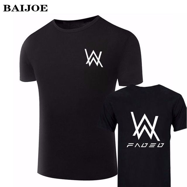 Buy now New BAIJOE Brand Fashion Men T-Shirt Music DJ Divine Comedy Alan Walker Faded short sleeve cotton casual tshirts homme Tops Tees just only $6.99 - 7.89 with free shipping worldwide  #tshirtsformen Plese click on picture to see our special price for you