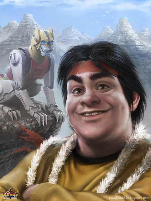 """Beautiful Illustrations Of Realistic """"Voltron"""" Characters"""