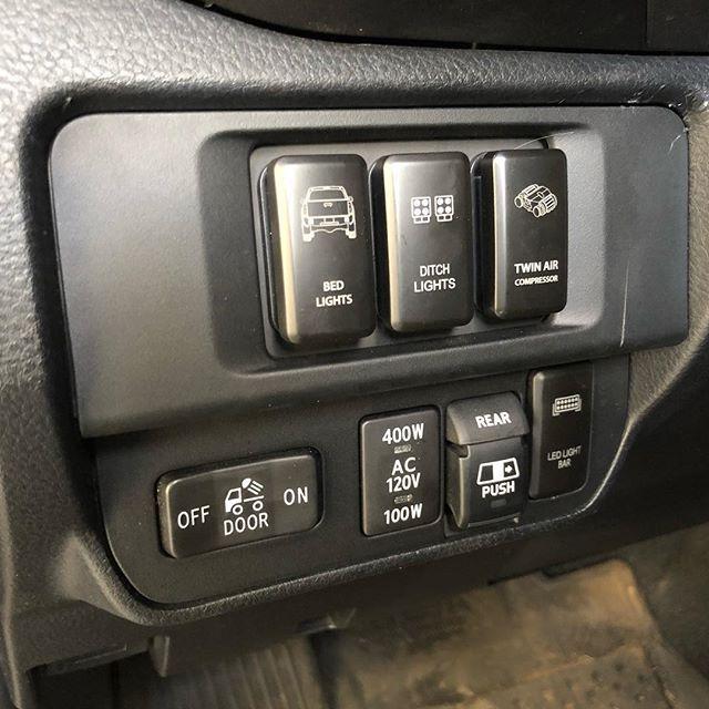 2016 2020 Toyota Tacoma Oem Style Switch Panel Tacoma