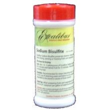 Excalibur's Sodium Bisulfite.   1.5  T  to a gallon of water, soak 5 min.   11-14-15