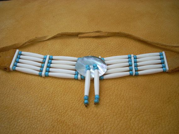 47 best native american choker breastplate images on for Native american handmade crafts