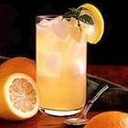 Citrus Mint Cooler: Lemon juice, Orange juice, Sugar, Water, Mint leaves and Ginger Ale