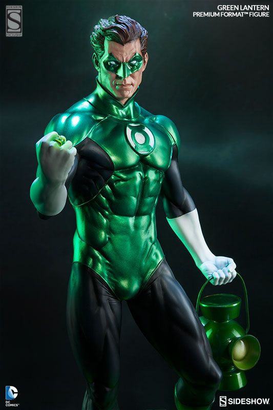 Green Lantern Hal Jordan Immortalized To Defend Sector 2814 -  #dc #greenlantern #sideshowcollectibles