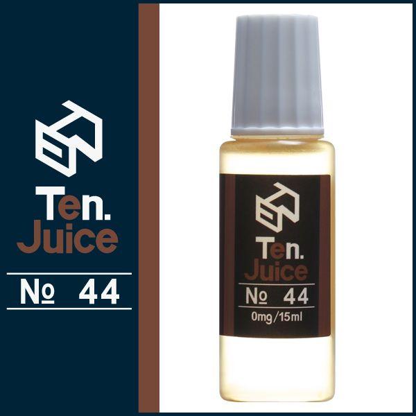 国産電子タバコリキッド Ten.eJuice NO.44 優しいシナモンの香りが人気のVAPEリキッド Ten. eJuice NO.44 シナモン風味 #電子タバコ #vapeリキッド #電子タバコリキッド #vape #ejuice #eliquid