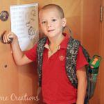 School Morning Routine Checklist