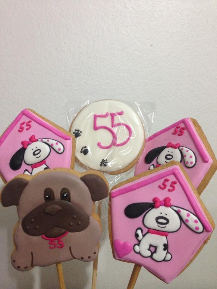 Cachorrinhos Biscoito princesa Sophia by Vovi's Biscoiteria 51 35882457 ou pedidosvovis@gmail.com