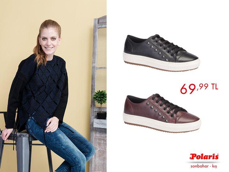 Metal detayların ışıltısı ile Sonbahar trendlerini en önden takip et!   #AW1617 #newseason #autumn #winter#sonbahar #kış #yenisezon #fashion#fashionable #style #stylish #polaris#polarisayakkabi #shoe #ayakkabı #shop#shopping #men #womenfashion #trend#moda #ayakkabıaşkı #shoeoftheday