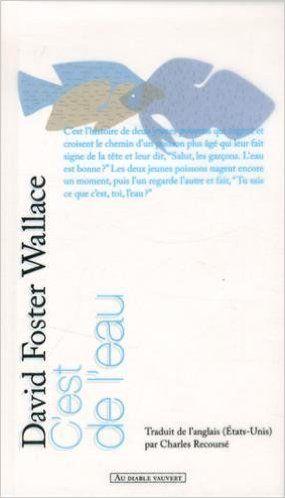 Amazon.fr - C'est de l'eau : Quelques pensées exprimées en une occasion significative, pour vivre sa vie avec compassion - David Foster Wallace, Charles Recoursé - Livres