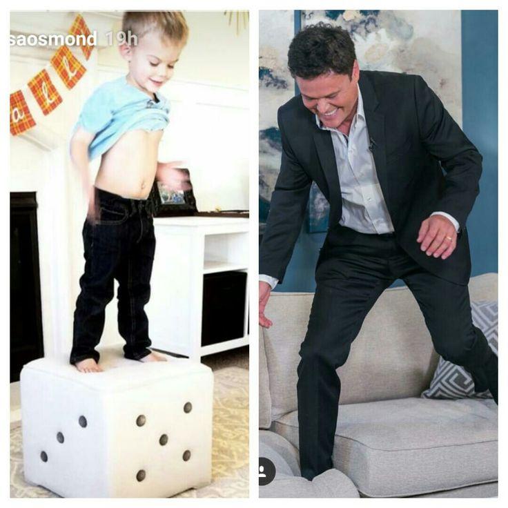 Like grandpa ..like grandson ..Jump !