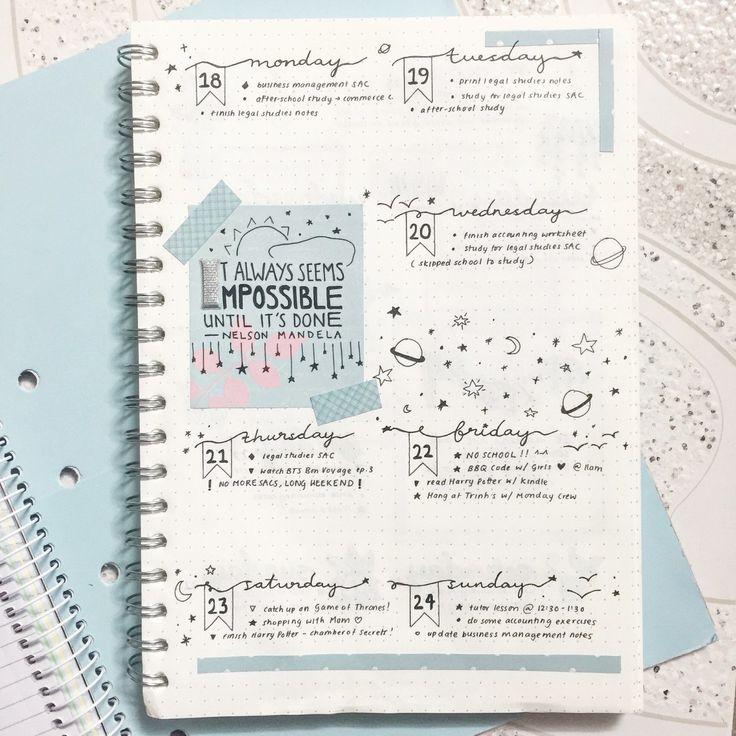 БУМАГА | ежедневники, DIY, учеба, планирование | VK