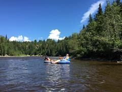 Pembina River Campground / Beach front camping
