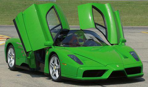Hijau Ferrari Enzo
