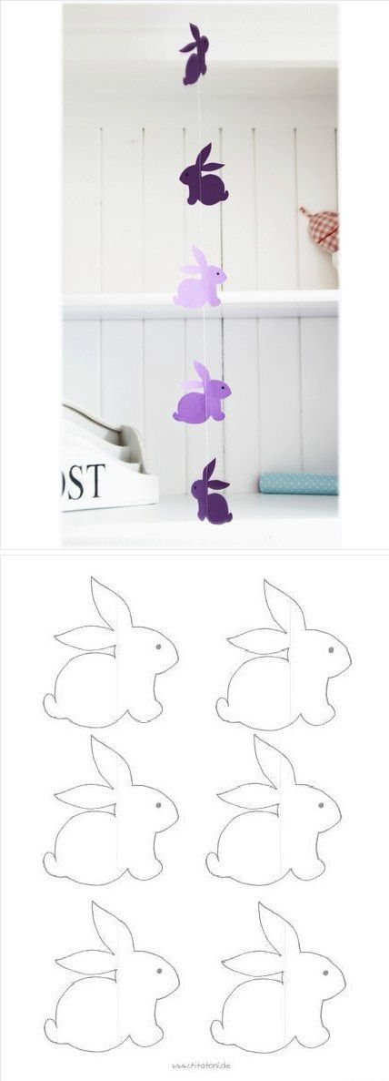 Little Rabbit wind chimes, curtain, can draw their own scissors, make their own.