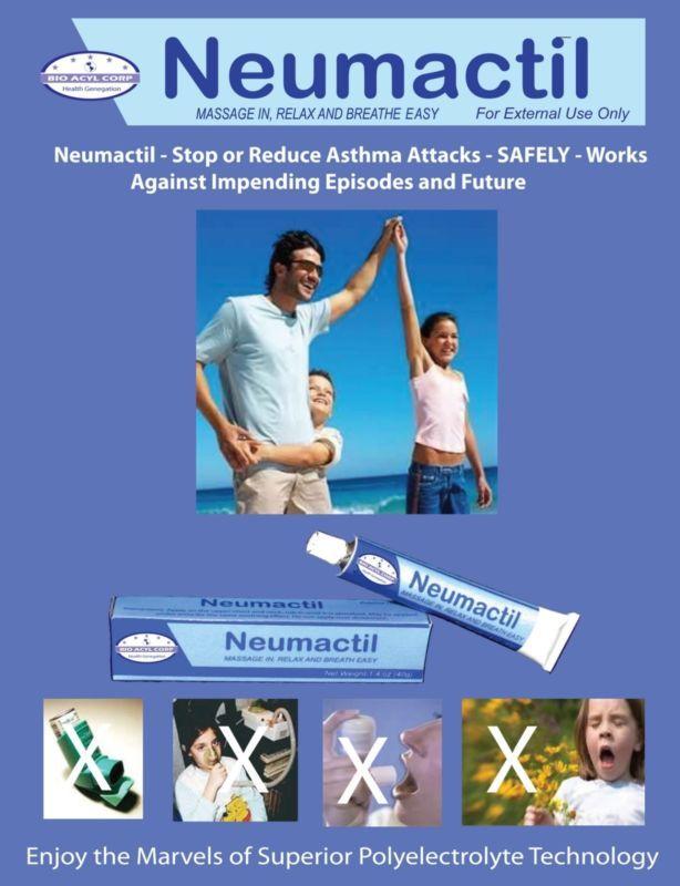Neumactil Stops asthma without an inhaler #ad