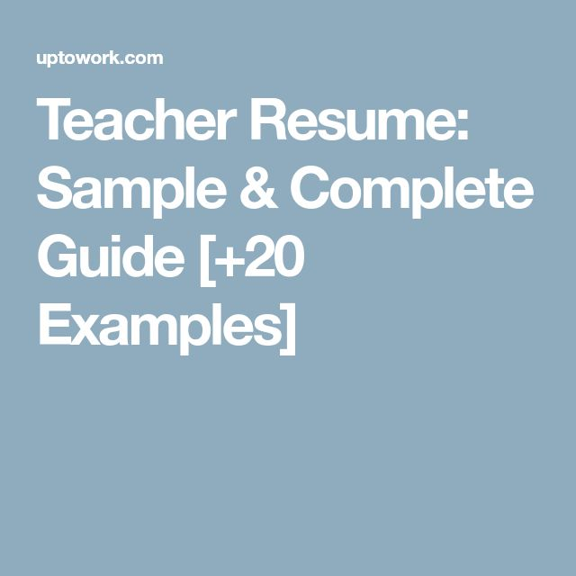 IT Resume Sample amp Complete Writing Guide 20 Examples