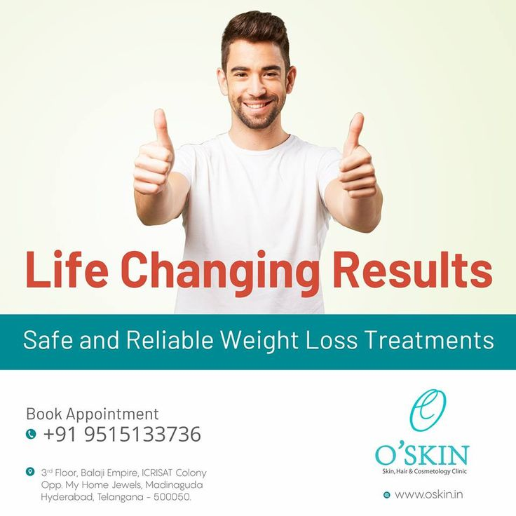 Safe and reliable weight loss treatments at O'Skin Clinic