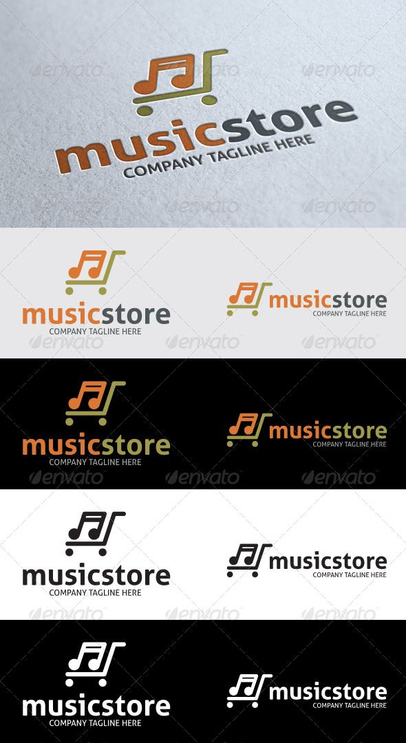Music Store Logo  #GraphicRiver        Archive Pack Included:   Ai, EPS and CDR files  Ai – CS ver  EPS – ver 10  All files are vectors  Fully editable and resizable  CMYK  Editable text   Only Free fonts used:    .fontsquirrel /fonts/Aller      Created: 5June13 GraphicsFilesIncluded: VectorEPS #AIIllustrator #CorelDRAWCDR Layered: No MinimumAdobeCSVersion: CS Resolution: Resizable Tags: beep #brand #business #cell #color #communication #company #corporate #creative #design…