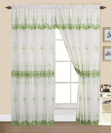 Green Curtains beige and green curtains : 17 Best images about CURTAINS on Pinterest | Window panels ...
