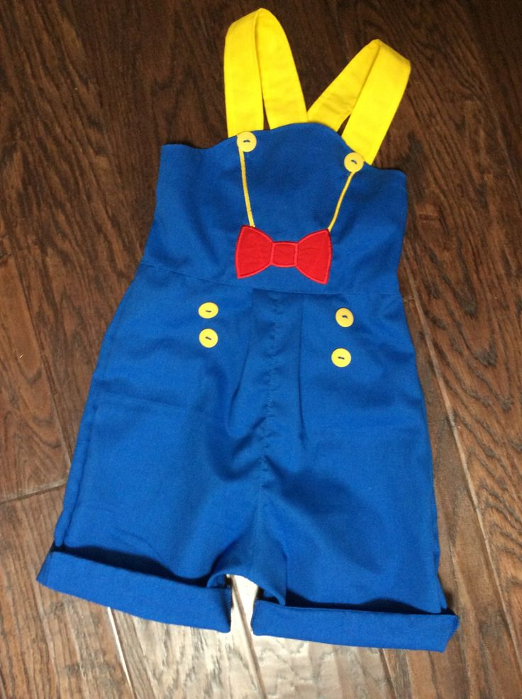 Disney birthday Donald Duck outfit by BoogerbearPunkinpooh