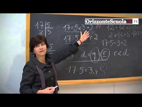 Matematica alle elementari, insegnare partendo dall'esperienza: la diivisione - YouTube