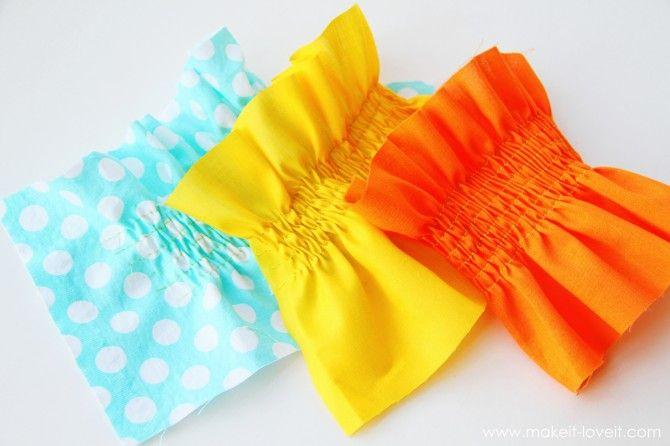 Sewing Tip: Shirring/Smocking with Elastic Thread: Aplicar Elástico, Elastic Thread Easy, Shirred Smocking, Sewing Tips, Thread Easy Tutorials, Elastic Threadeasi, Aplicar Elastico, Shirred Tutorials, Threadeasi Tutorials
