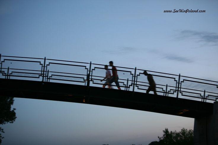 Mostek Miłości   Love Bridge #zamosc #bridge #lovebridge #mostek #lubelskie #cityscape #sunset #twilight #polska #poland #seeuinpoland