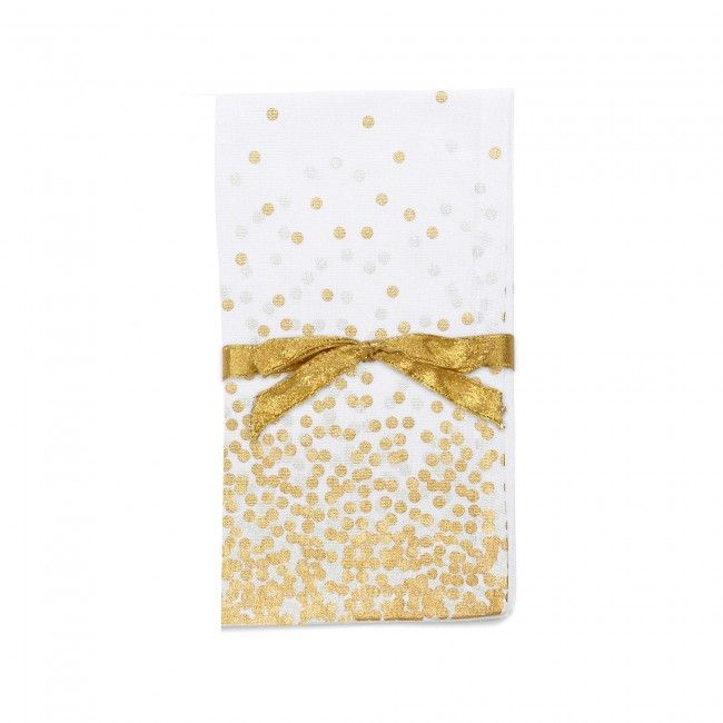 Add a touch of sophistication to your Christmas dining table with a set of metallic Harman Christmas Confetti Printed Cotton Napkins. These napkins offer design versatility with their stunning colour and delightful pattern.    Whether you're looking for stocking stuffers, Secret Santa presents, festive Christmas decor or even gift cards, we have a huge selection of unique holiday stuff to make your days and nights merry and bright.