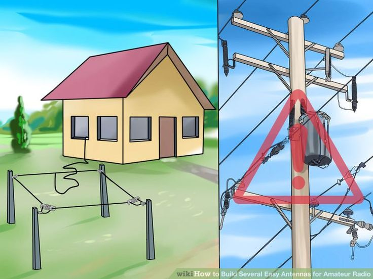 Image titled Build Several Easy Antennas for Amateur Radio Step 5