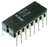 1971 Intel released the world's first single-chip processor, and the first commercial microprocessor
