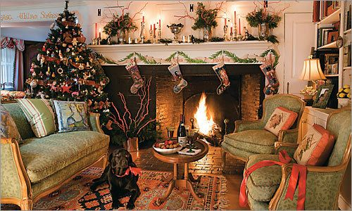 French Country Christmas - So Pretty: Sparkly Christmas, Christmas Time, Christmas Decoration, French Country Christmas, Christmas Eve, Fireplace, Christmas Trees, Merry Christmas, Country French Christmas