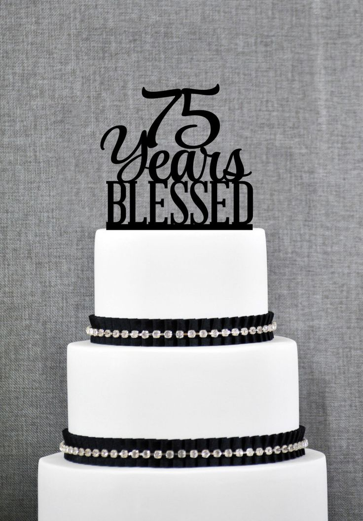 year birthday invitatiowordingiindiastyle%0A    Years Blessed Cake Topper  Classy   th Birthday Cake Topper    th  Anniversary Cake Topper