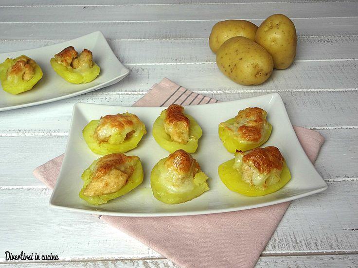 Barchette+di+patate+ripiene