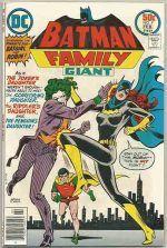 BATMAN FAMILY #9 NM  9 NM £40 3rd Joker's Daughter (1st cover app)
