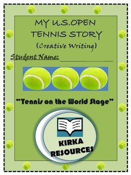 My U.S. Open Tennis Story  My U.S. Open Tennis Story - Creative Writing:  This is a 9 page template    - Aimed for year level 2 and 3 children   - Children can write a made up story about the U.S. Open Tennis and follow other various prompts to encourage their story writing..