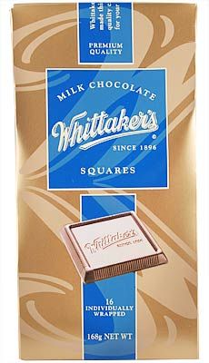 Milk Chocolate Squares – Whittaker's – 168g  | Shop New Zealand