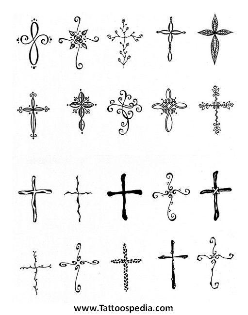 female small cross wrist tattoo - Google Search