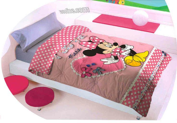 Introvabile Trapunta Invernale Minnie Disney - Raso line L.F.D. Home