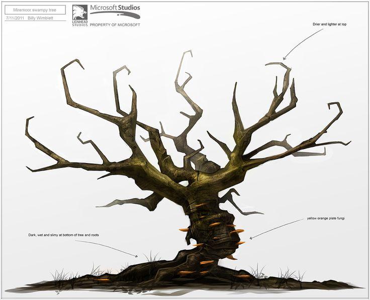 Miremoor Tree by Billy-Wimblett.deviantart.com on @DeviantArt