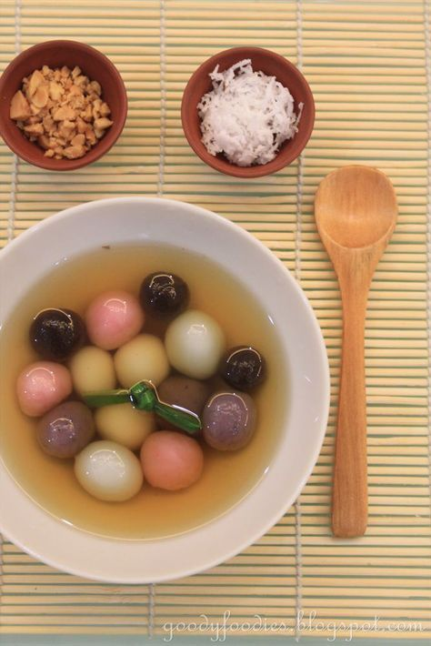 Eat Your Heart Out: Recipe: Homemade Tong Yuen (Glutinous Rice Balls) - for Winter Solstice/Dongzhi Festival