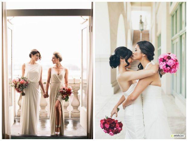 Casamento gay – Inspiração de looks para noivas e noivos