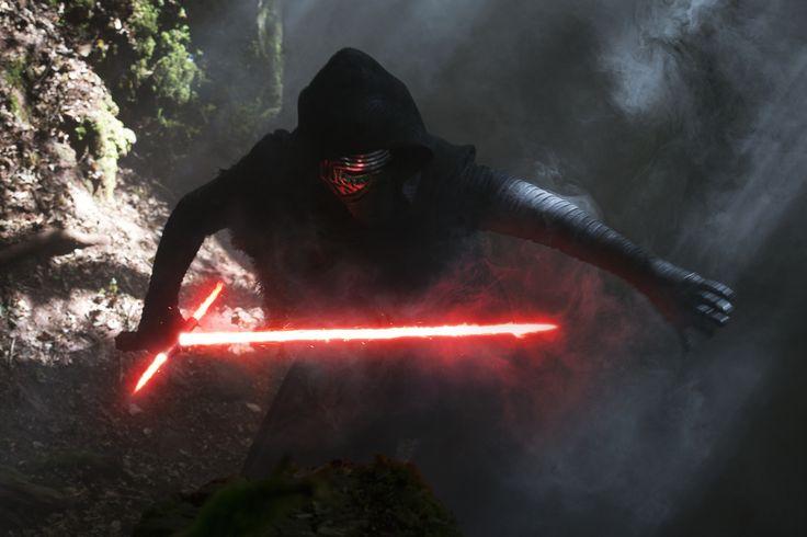Filme Star Wars Episode VII: The Force Awakens  Kylo Ren Star Wars Lightsaber Wallpaper