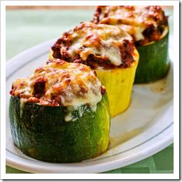 Our Favorite Recipes for Your Zucchini Harvest; thanks to Super Healthy Kids for sharing my Stuffed Zucchini Cups!