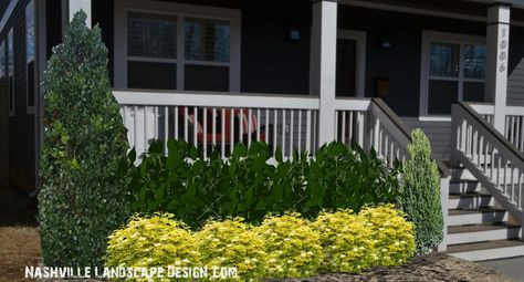 3D Landscape Design in Nashville TN  Thank you for visiting today. The images below represent an unfinished space. By tonight we will have the completed images up. I have a vision of Emerald Arborvitae along the fence area for privacy and a sense of enclosure. There will be plants behind the wall to hide …