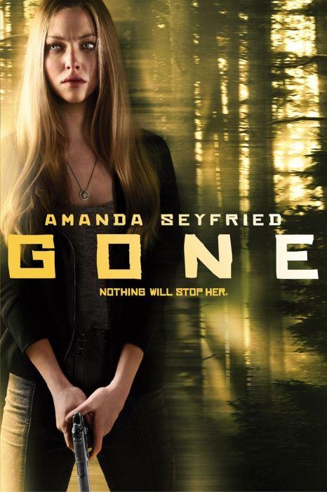 Gone Movie Poster - Amanda Seyfried, Daniel Sunjata, Wes Bentley  #Gone…