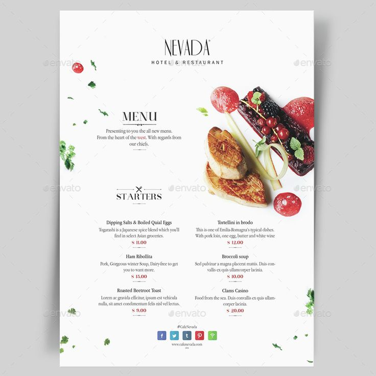 Restaurant Menu Templates. Download : http://graphicriver.net/item/menu-pack-5/15107573?s_rank=9&ref=pxcr