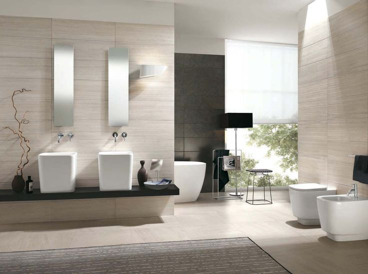 64 best Carrelage Salle de bains images on Pinterest | Space, Room ...