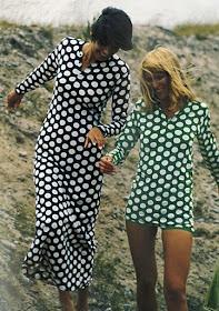 Vintage Marimekko polka dots