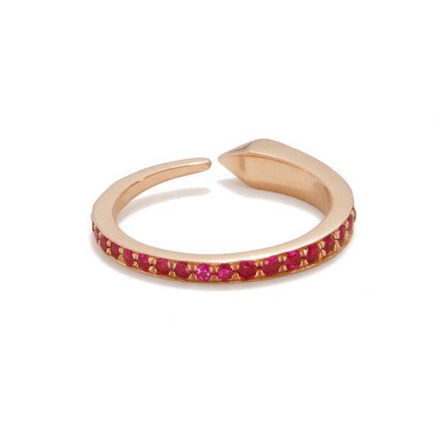 Ruby Comet Ring - Tilda Biehn